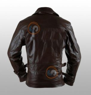 CHRIS EVANS THE FIRST AVENGER BIKER LEATHER JACKET – EXACT REPLICA