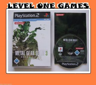 Metal Gear Solid 3 Snake Eater (PS2) *582 4012927026113