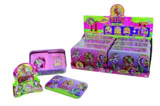 Lieferumfang 1 Filly Tin Box Schulfee NEU & OVP in der Farbe LILA