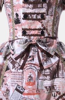Gothic Lolita Kleid Alice im Wunderland vintage Style mit Haarreif
