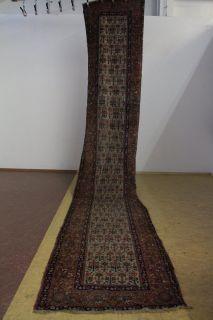 Teppich Läufer 110 x 599 handgeknüpft Türkei ~1930/40