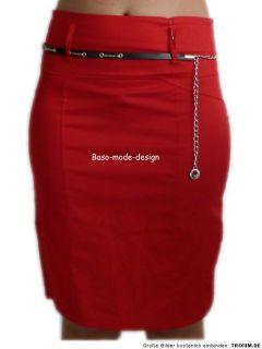 Damen Fashion Style Hochbund Stiefelrock Stretch Rock Business Fein