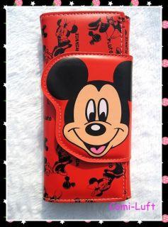 Mickey Mouse Damen Geldbörse Brieftasche Geldbeutel L08