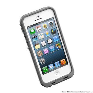 LifeProof iPhone 5 Case Weiss Schwarz Wasserdicht Cover Tasche Neu