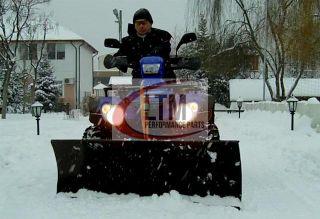 Schneeschild Quad ATV UTV 140 cm Schneepflug, Seitenschieber