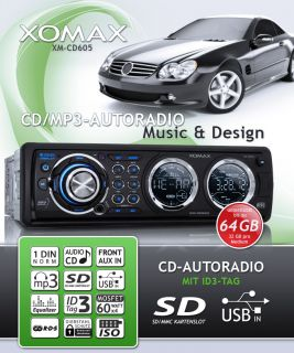 CD  WMA RDS Autoradio ID3 TAG USB SD 240W TOP DESIGN