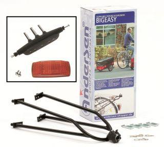 Andersen Fahrrad Anhänger Kupplung Fahrradkupplung Einkaufstrolley