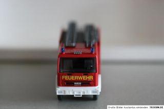 Wiking 611 03 37 Feuerwehr LF 16/12 (Iveco EuroFire) 187 Spur H0 OVP