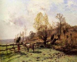 Classic Landscape Painting 625 Ölgemälde kein Druck   alle Maße
