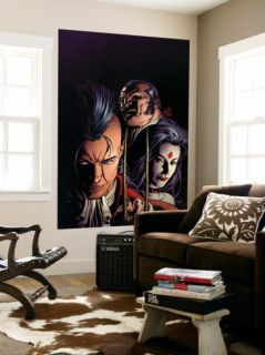 X Men Legacy #217 Cover Shaw, Sebastian, Lady Sinister and Daken Wall Mural by Mike Deodato Jr.
