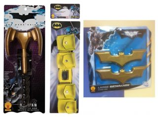 BATMAN GRAPPLING HOOK, 3D UTILITY BELT & BAT A RANG LICENSED 8160