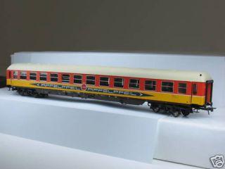ADE H0 Apfelpfeil Gesellschaftswagen orange/gelb L630