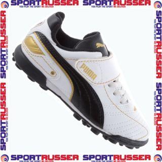 Puma Esito Finale TT V Inf Junior white/black/gold