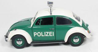 24   FRANKLIN MINT   VW Käfer   Polizei / 1 S 636