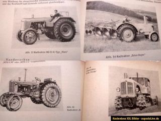 DDR Landtechnik Traktor Ifa Pionier Harz Famulus Belarus RS 09+01+14