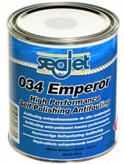 43,98EUR/1l) Seajet 034 Emperor Antifouling blau schwarz rot weiß