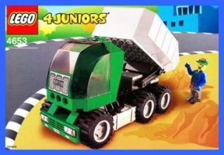 LEGO BAUANLEITUNG 4653 * 4 Juniors   Dump Truck * 631