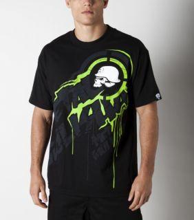Metal Mulisha Drain Tee T Shirt schwarz black blk Gr. s m l xl xxl