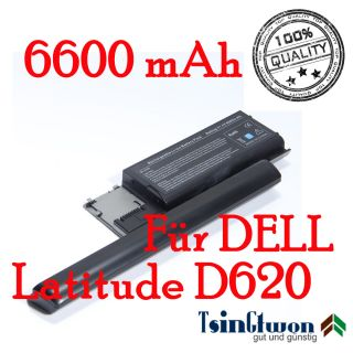 Zellen Laptop Akku für DELL LATITUDE D620 D630 D631 PC764