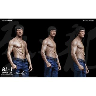 Bruce Lee Figur Enterbay Limited Edition BL 1 Black Label NEU OVP