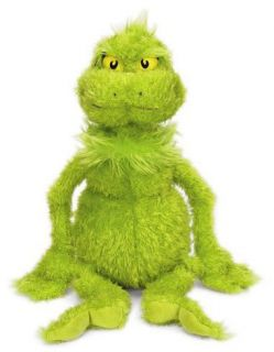 Dr Seuss   THE GRINCH Large 22 Plush Beanie Soft Toy *NEW*