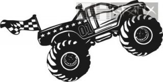 Aufkleber Monstertruck Sticker +++ 15cm
