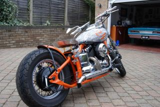 Yamaha XVS 650 Dragstar Bobber Chopper Harley Alternative 12 Months