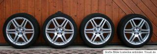 Dunlop Sommerreifen mit ORIGINAL Mercedes AMG 18 Zoll Felgen TOP