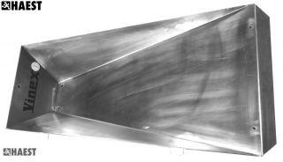 Einstichkasten Stabhochsprung Edelstahl mit Abdeckung