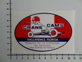 CRANE CAMS Old School Aufkleber , Sticker , Muscle Car , US Cars Mi097