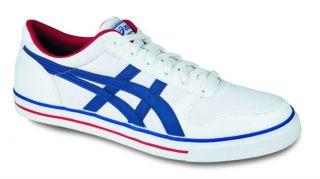Asics Aaron CV Weiß Damen Herren Schuhe Sneaker