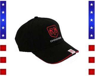 DODGE RAM Logo BaseCap W/B/B