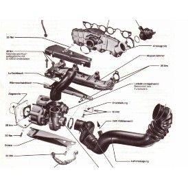 Turbolader KKK K14 VW T3 JX 1.6TD Motor 51KW 068145703H