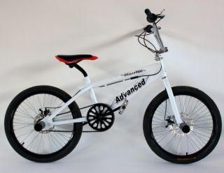 20 ZOLL BMX FREESTYLE FAHRRAD SCHEIBENBREMSEN DISC BRAKES GRIND PEGS