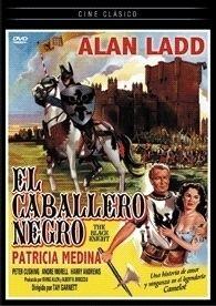 UNTER SCHWARZEM VISIER 1954 THE BLACK KNIGHT DVD R2 ALAN LADD PETER