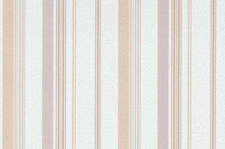 ROLLEN VLIES Tapete Stripes Weiß Braun Beige