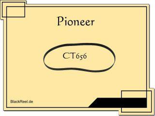 Pioneer CT 656 CT656 Riemen rubber belts Kassettendeck Cassette Tape