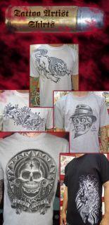 1A Qualität. Death T Shirt designed von Tattoo Artist Antonio Mejia