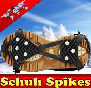 APA Schuh Spikes 8 Spikes 36 45 Eiskrallen Gleitschutz