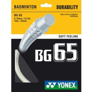 Yonex BG 65 10 Meter Badminton Schläger Racket Saite Rolle orange