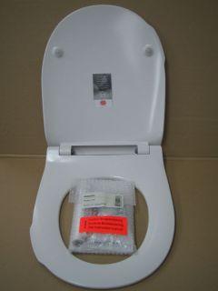 Pressalit Modern Art WC Sitz Autoclose 672 Weiß Laser