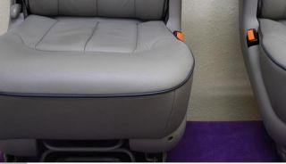 LEDER Sitze VW Sharan Ford Galaxy Sitz hinten L+R