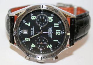 POLJOT 3133 LUFTWAFFE russian military Aviator chronograph neu