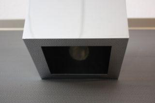 Designer Edition Chrom Quadrat Hängeleuchte Decken Lampe Panton zu