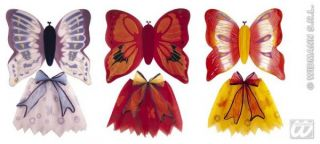 Kostüm Schmetterling Fasching Kinder Mädchen Flügel Rock Karneval