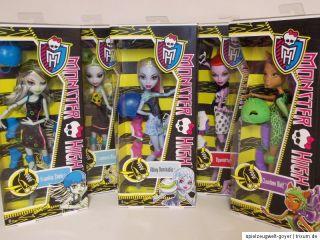 Monster High * Frankie Abbey Bominable Lagoona Operetta Clawdeen * NEU