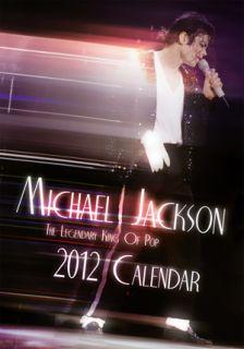 MICHAEL JACKSON Offizieller Kalender 2012 Calendar *NEU
