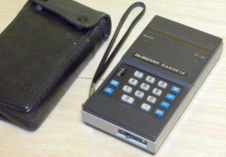 Busicom HANDY LE 120A LED Taschenrechner calculator