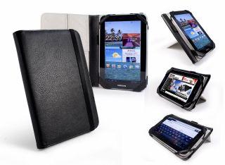 Tuff Luv Tri Stand Kunstledertasche fuer Samsung Galaxy Tab 7 schwarz