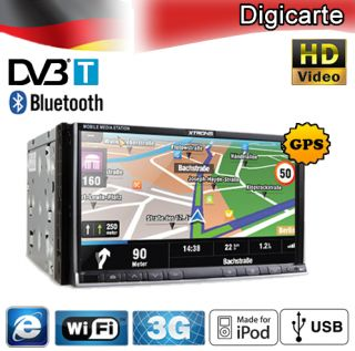 TD695GD 6,95 DVD Player Doppel 2 DIN Autoradio HD GPS 3G WIFI DVB T